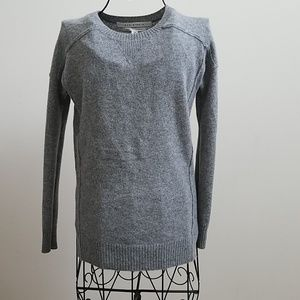 Women's Max Studio gray cashmere sweater